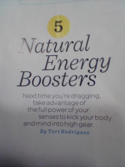 WH Natural Energy Boosters