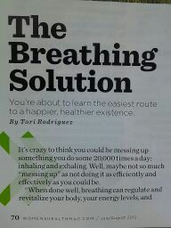 Tori breathing