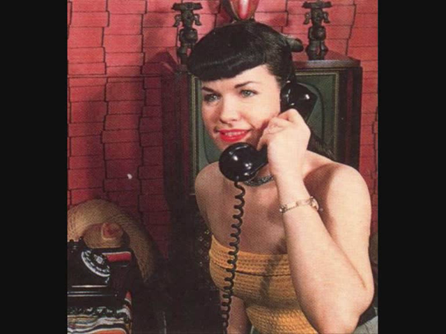 Bettie clothes on phone - did you hear
